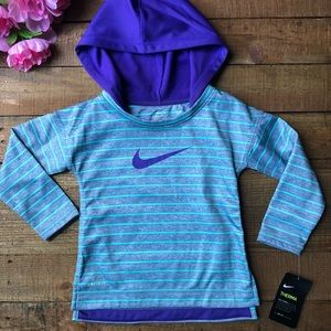 NWT Nike Dri-fit Therma toddler pullover hoodie